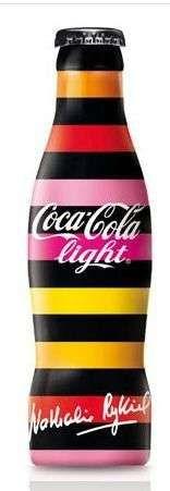 Fashionable Beverage Bottles,  Nathalie Rykiel's Artsy Coca-Cola Design.