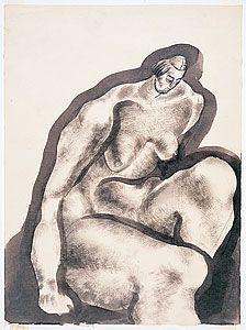 Joy Hester. Nude study. c. 1939-41.