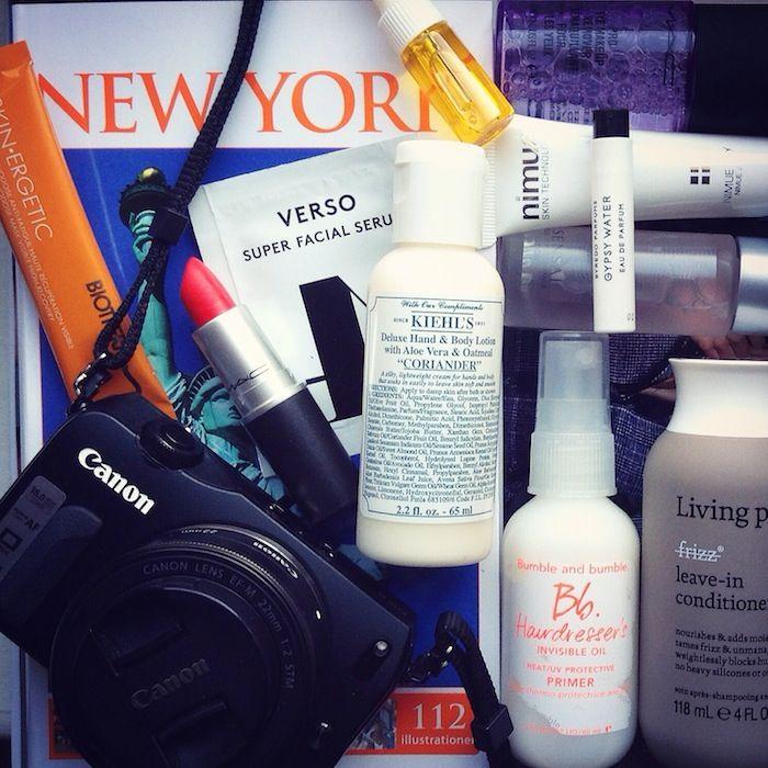 Travel essentials by Charlotte Wehtje