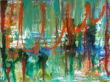Stream  30x40 inch acrylic on canvas Abstract Paintings - contemporary - artwork - minneapolis - EdBockEditions