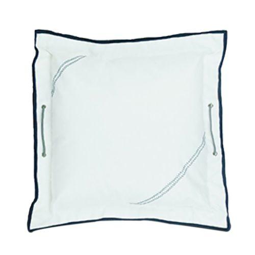 Sailorsbag Home Boat Bedding Decorative Sailcloth Large Pillow Cover Blue