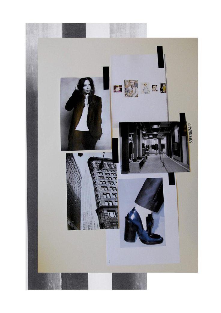 Fashion Moodboard - fashion design research & development; collection inspirations // Rachel Raheja