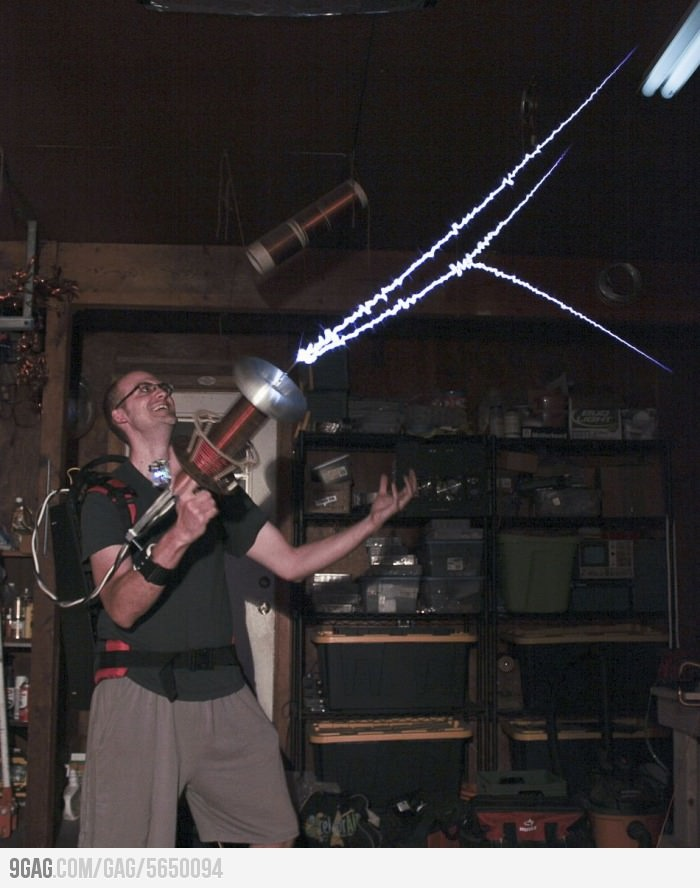 Tesla Coil Gun // why don't I know this man?
