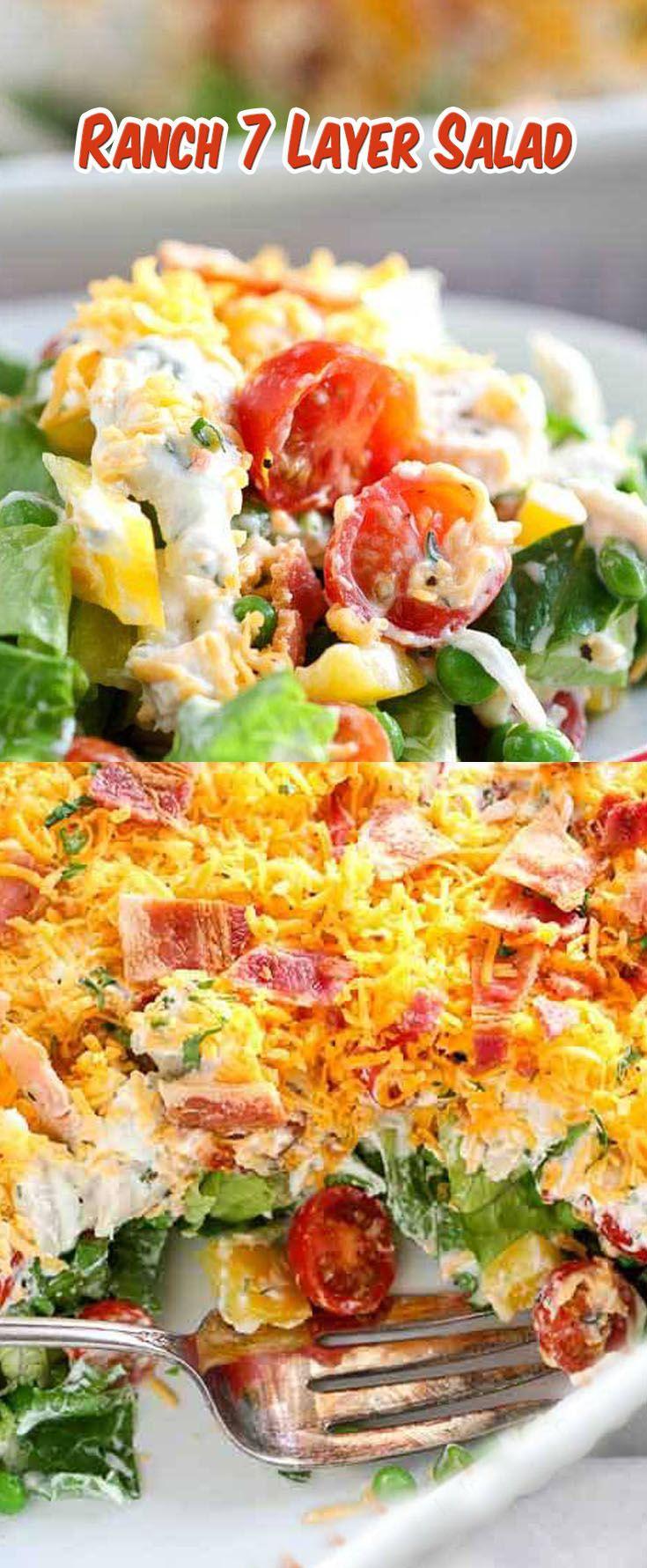 Ranch 7 Layer Salad