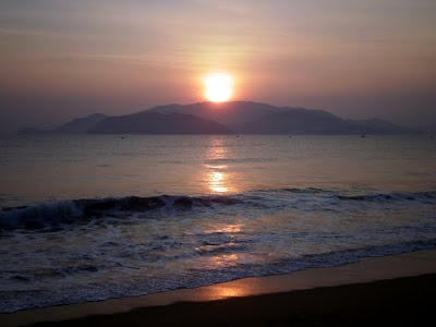 Nha Trang sunrise, Vietnam