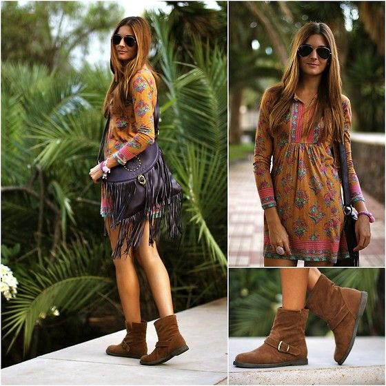 Ethnic Dress (by Marianela Yanes) http://lookbook.nu/look/4082514-Ethnic-Dress