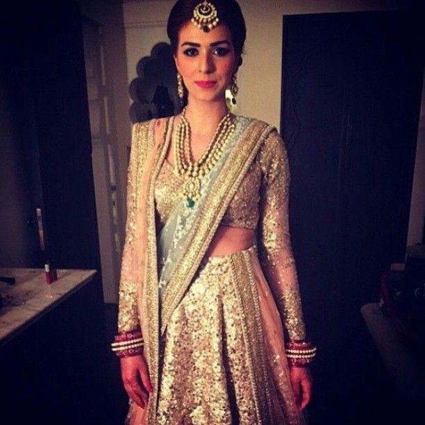 This #outfit by #sabya is #everything #bridal #couture!