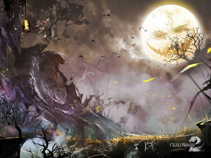 Fond d'écran GW2 pour Halloween 2012