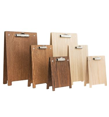 Menu Holder Clipboard A-Frame - Available in three sizes (A4, A5, A6)   Starting from £8.94 each