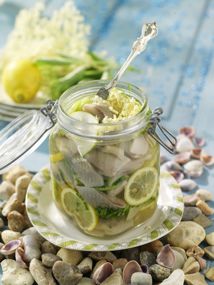 Fläder- och citronsill | Utmärkt sommarsill