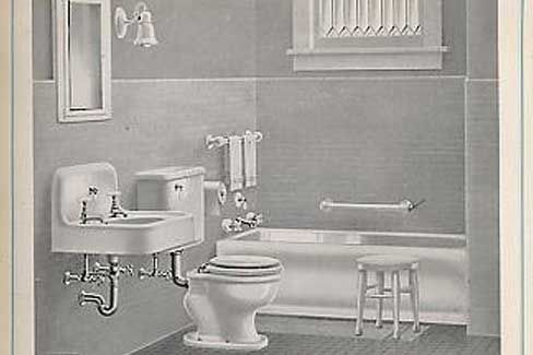 Historical Bathroom Photos « 1912 Bungalow