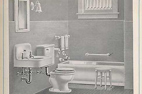 67 Best 1920 Bathroom Images On Pinterest