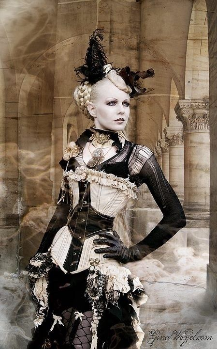 Steampunk Couture   STEAMPUNK COUTURE / ~ Omg, I just love this outfit!