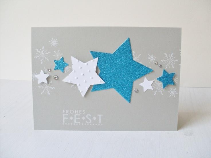 Carolas Bastelstübchen: Sterne. Druck und plastisch!