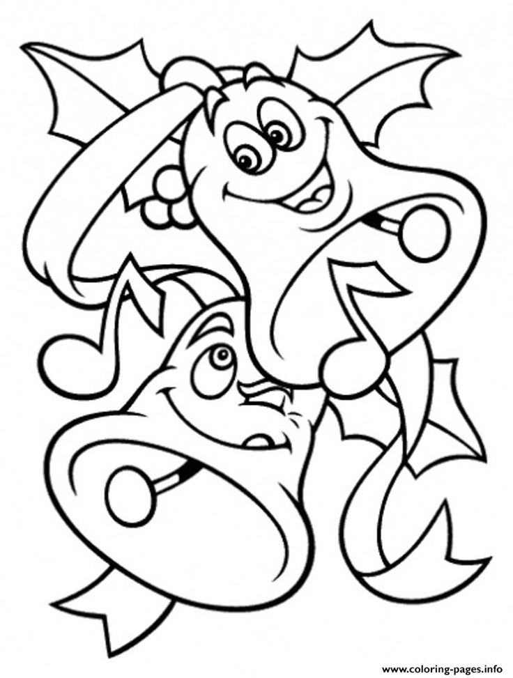 Print Free S For Christmas Bells Kids2389 Coloring Pages