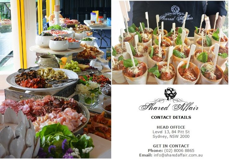 Shared Affair Catering Sydney - Google+ Profile