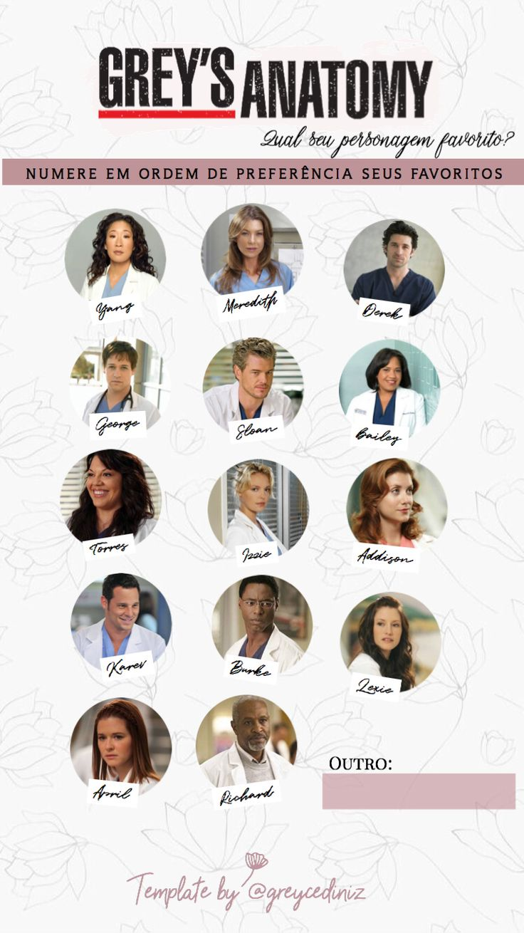 19 best Fio images on Pinterest | Backgrounds, Grays anatomy and ...