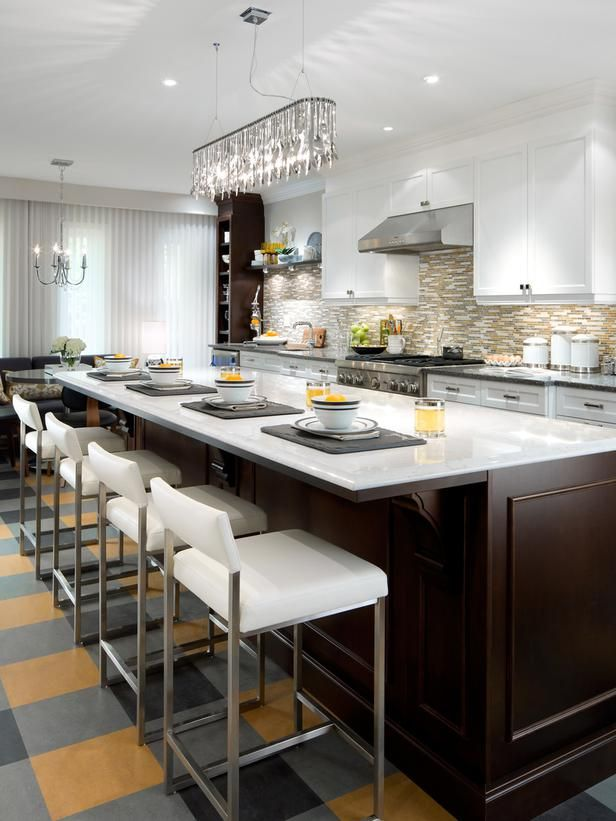 Kitchen Seating Options: Ideas for Chairs and Stools from HGTV