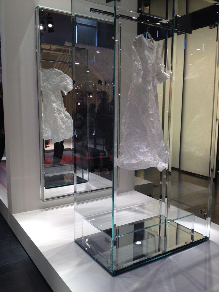 2016 Design Award Prism Glass Closet by Tokujin Yoshioka at M&O Paris France