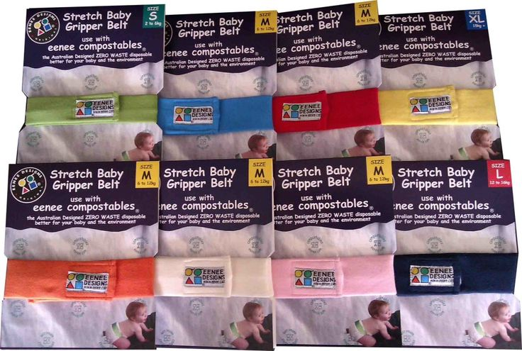 Stretch Gripper Belts for nappies