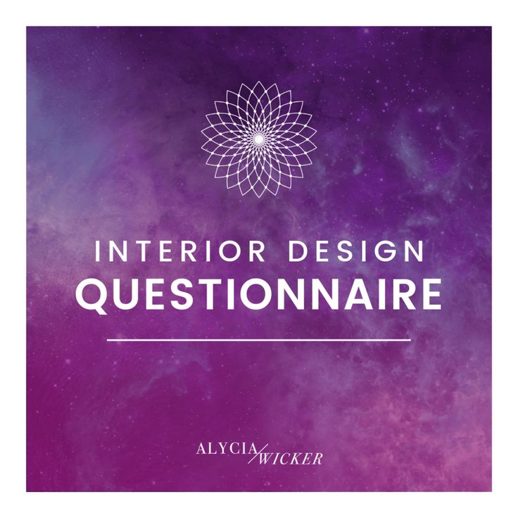 Interior Design Client Questionnaire (With images ...