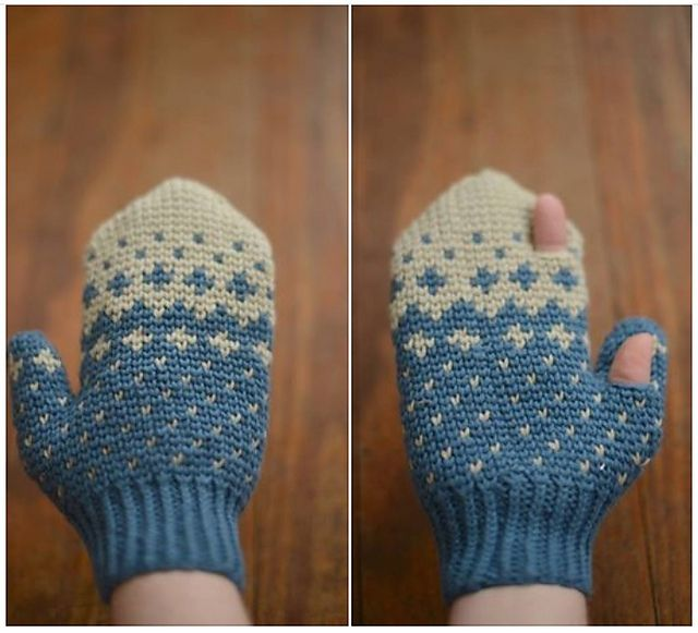 123 best Crochet Nordic crochet images on Pinterest | Gloves ...