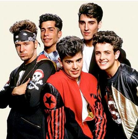 New Kids on the Block - Jordan, Joey, Donnie. That was the order of the severity of my crushes. LOL