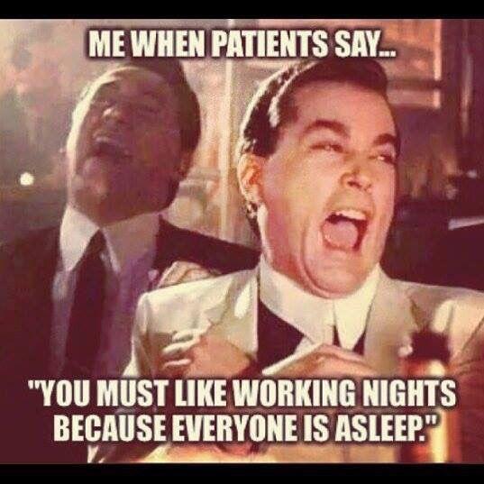 Night nurse problems