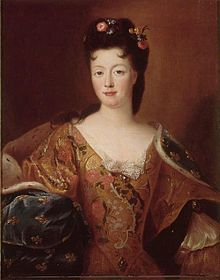 Elisabeth Charlotte de Orleans (1676-1744) Duchess of Lorraine. was a French petite-fille de France and by marriage to Leopold, Duke of Lorraine, duchess and later regent of Lorraine and Bar. She was also suo jure Princess of Commercy. Among her children was Francis I, Holy Roman Emperor, a co-founder of the House of Habsburg-Lorraine. In short, Maria Theresa's mother-in-law, and Marie Antoinette's grandmother.