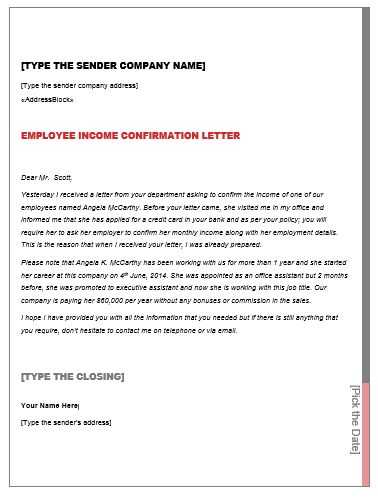 letter to credit card companies
