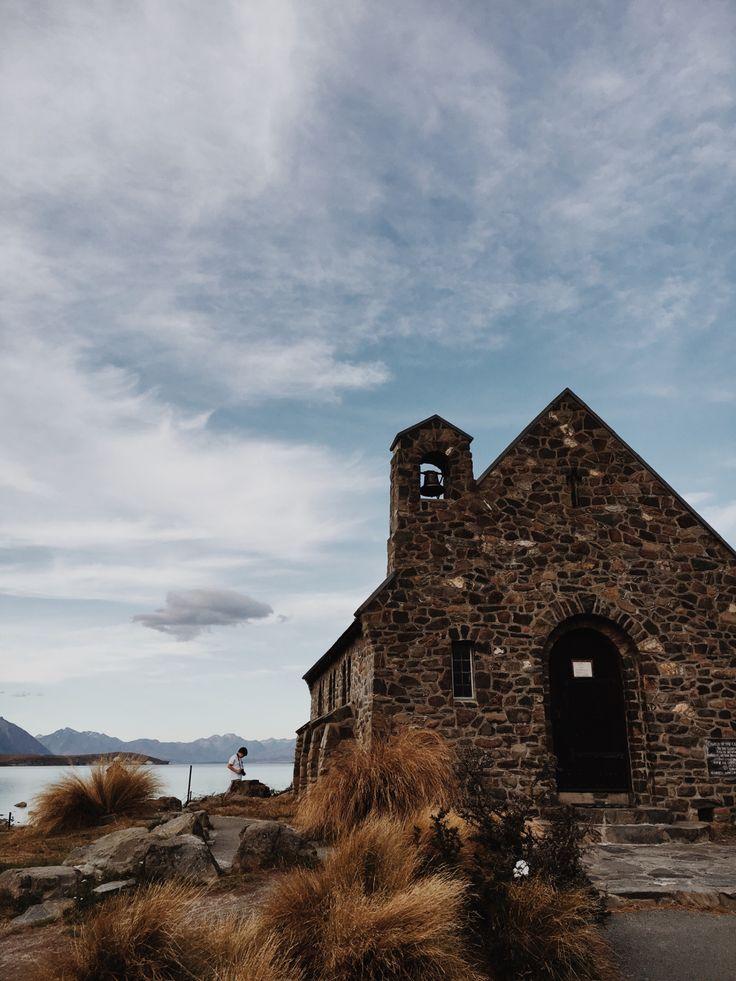 Church of the Good Shepherd #newzealand #churches #laketekapo