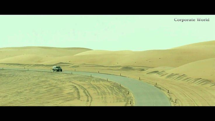 The World's Best City Project Desert Road In Saudi Arabia