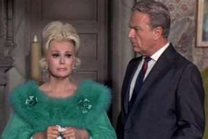 "Eva Gabor  Eddie Albert in ""Green Acres"""