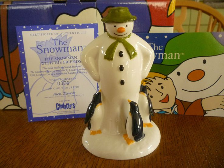 "Coalport ""The Snowman With His Friends"""