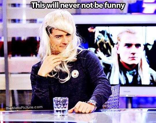 Orlando Bloom as Legolas…