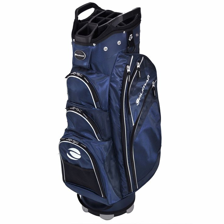 Featuring an integrated putter holster these mens 2015 OC 14.9++ golf cart bags also offer two large garment pockets and five accessory pockets
