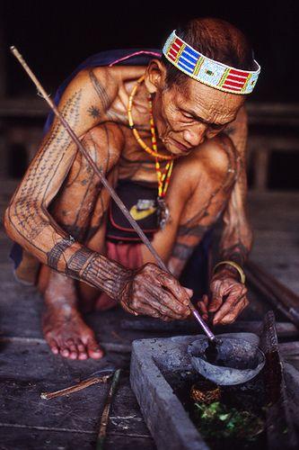 Mentawai huntsmen, Indonesia. Kelana DMC - a member of Gondwana DMC's, your network of global boutique Destination Management Companies - visit www.gondwana-dmcs.net or www.kelanadmc.com