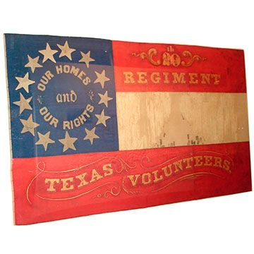 20th Texas Battle Flag