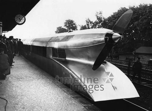 Schienenzeppelin in Deutschland, 1931 Timeline Classics/Timeline Images…