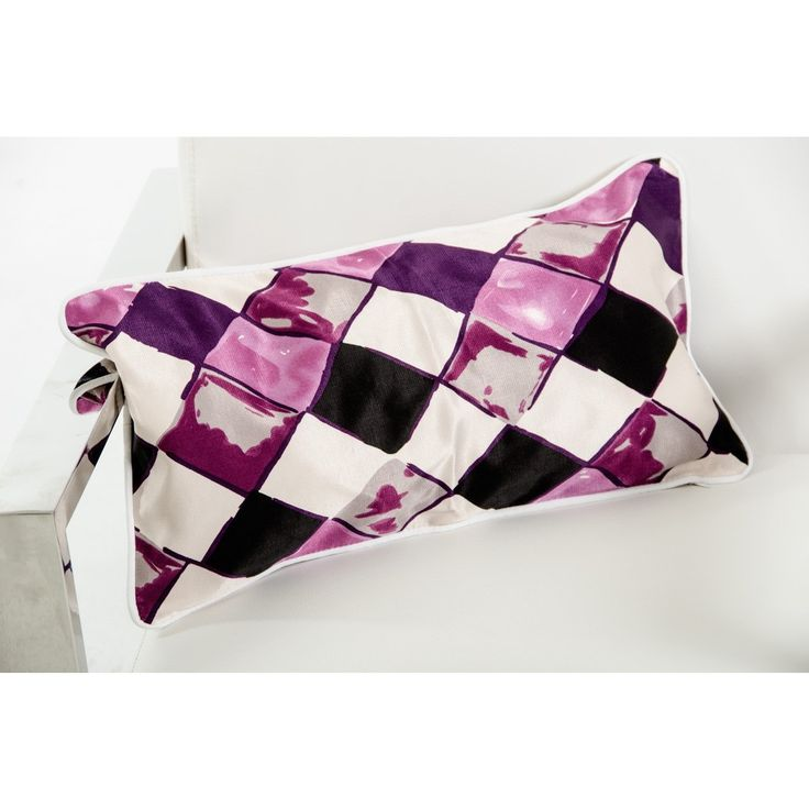 Modrest Roche Purple Throw Pillow