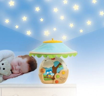 love this starry night / music projector night light!