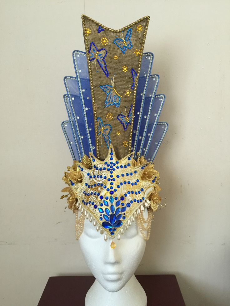 Chinese head wear designed & make by Bilge Avci (me)