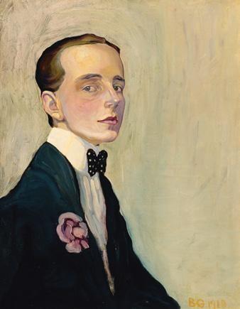 Batthyány Gyula: Önarckép, 1910, olaj, vászon, 65 × 55 cm