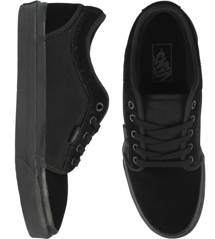 Vans Chukka Low Shoes - Black/Black $54.50 #vans #chukka