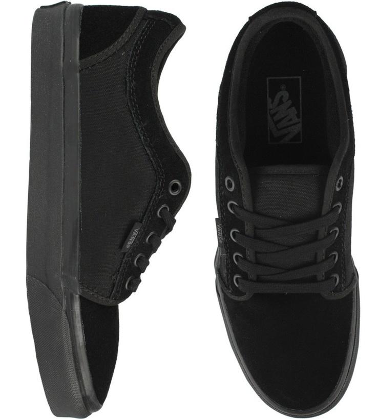 Vans Chukka Low Shoes - Black/Black $54.50 #vans #chukka