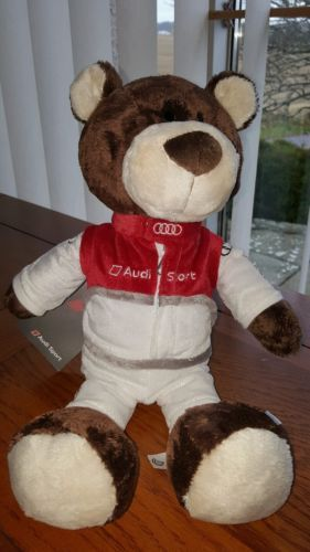 Audi #sport motor#sport #cuddly #teddy bear gift idea a1 a3 a4 a5 a6 a7 a8 q3 q5 q,  View more on the LINK: 	http://www.zeppy.io/product/gb/2/132082789050/