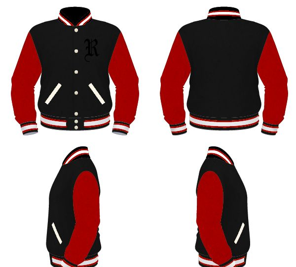 18 Best Images About Handmade-to-Order Varsity Jackets On