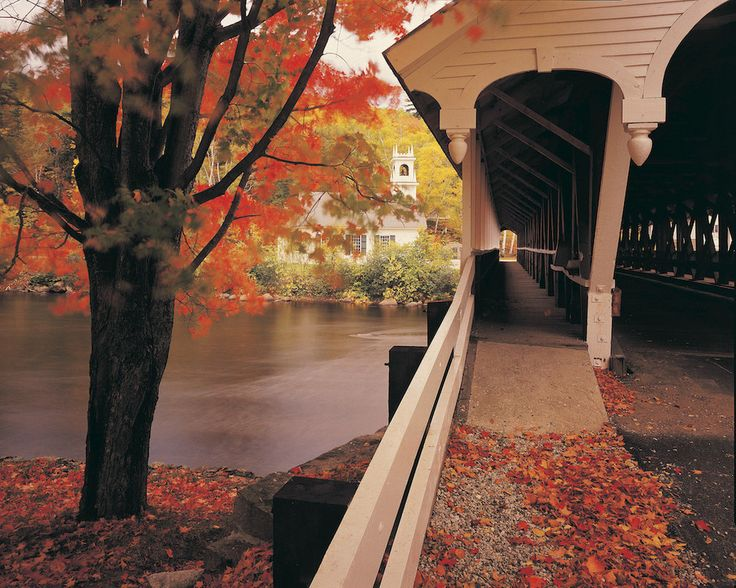 And if you happen to drive under one of New England's covered bridges? It's…