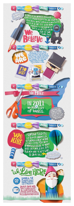 #Creative and #Colorful #Webtemplate    83Oranges.com