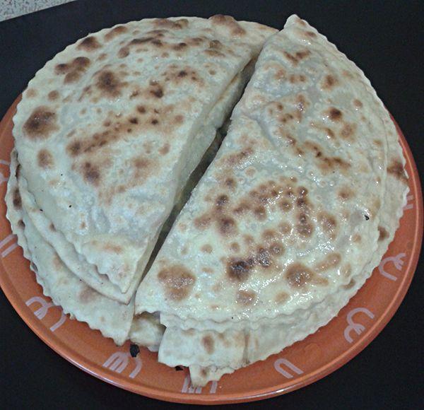 Чебуреки печеные на сухой сковороде без масла